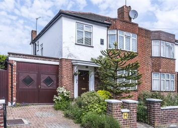 Thumbnail 3 bed semi-detached house for sale in Lexton Gardens, London