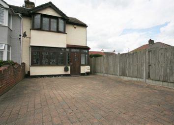Thumbnail 3 bed end terrace house for sale in Stanford Close, Romford