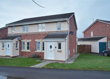 Thumbnail 3 bed semi-detached house for sale in Moorside Drive, Carleton Grange, Carlisle, Cumbria