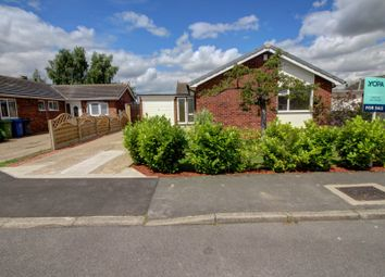Thumbnail 3 bed bungalow for sale in Elm Close, Saxilby, Lincoln