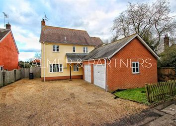 Thumbnail 4 bed detached house for sale in The Spinney, Higham Road, Stratford St. Mary, Colchester