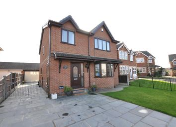 Thumbnail 4 bedroom detached house for sale in Palatine Close, Staining, Blackpool, Lancashire