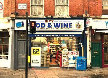 Thumbnail Retail premises for sale in St. John Street, London