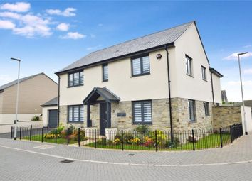 Thumbnail 4 bed detached house for sale in Lord Morley Way, Plymouth
