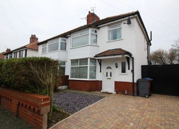 Thumbnail 3 bed semi-detached house for sale in Rookwood Avenue, Thornton-Cleveleys