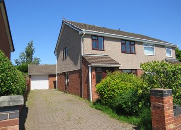 Thumbnail 4 bed semi-detached house for sale in Woodland Road, Whitby, Ellesmere Port