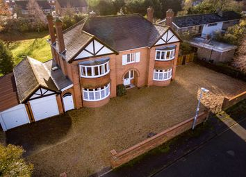 Thumbnail 5 bed detached house for sale in The Avenue, Sandy