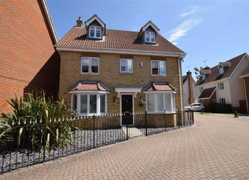 Thumbnail 5 bed detached house for sale in Norfolk Place, Chafford Hundred, Essex
