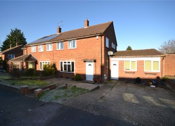 Thumbnail 3 bedroom semi-detached house for sale in Moordale Avenue, Priestwood, Bracknell, Berkshire