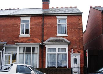 Thumbnail 3 bedroom terraced house to rent in Cornwall Road, Handsworth Wood