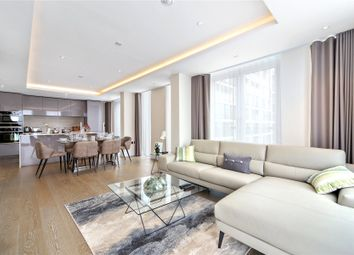 Thumbnail 2 bed flat for sale in Edward House, 2 Radnor Terrace, Kensington, London