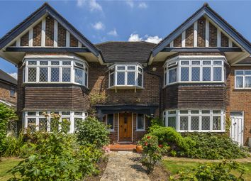 Thumbnail 5 bed detached house for sale in Pine Walk, Surbiton