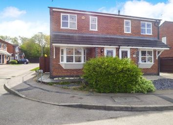Thumbnail 3 bed semi-detached house for sale in Geveze Way, Broughton Astley, Leicester, Leicestershire
