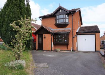 Thumbnail 3 bed detached house for sale in Poplar Close, Nottingham