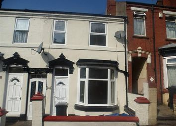 Thumbnail 3 bedroom terraced house to rent in Ivanhoe Street, Dudley