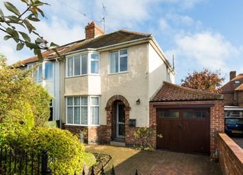 Thumbnail 3 bed semi-detached house for sale in Elmfield Avenue, Off Malton Road, York