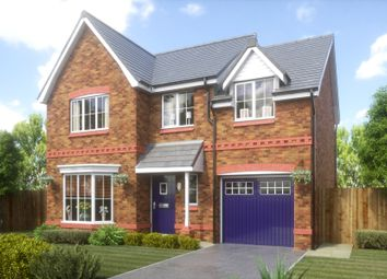 Thumbnail 4 bed detached house for sale in Rectory Lane, Wigan