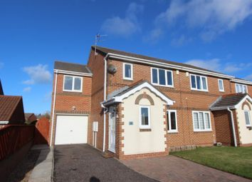 Thumbnail 4 bed semi-detached house for sale in Abbotsfield Way, Faverdale, Darlington
