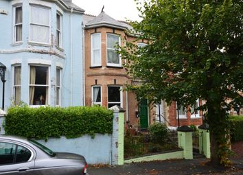 Thumbnail 3 bedroom terraced house for sale in Kingsley Road, Plymouth, Devon