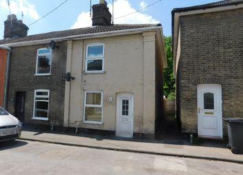 Thumbnail 2 bedroom end terrace house for sale in Bond Street, Stowmarket