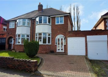 Thumbnail 3 bed semi-detached house for sale in Westridge Road, Birmingham