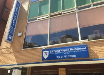 Thumbnail Restaurant/cafe for sale in Cheapside, Hanley, Stoke-On-Trent