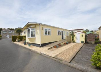 Thumbnail 1 bed mobile/park home for sale in Gwealmayowe Park, Helston, Cornwall