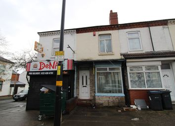 Thumbnail 2 bed terraced house for sale in Pershore Road, Selly Park, Birmingham