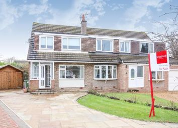 Thumbnail 3 bed semi-detached house for sale in Rugby Close, Tytherington, Macclesfield, Cheshire