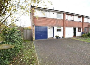 Thumbnail 3 bedroom end terrace house for sale in Stratfield Close, Cambridge