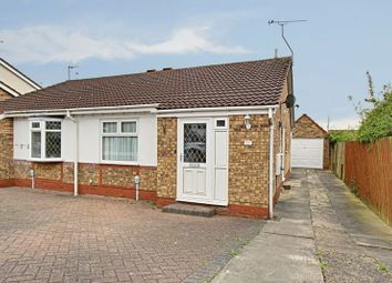 Thumbnail 2 bed semi-detached bungalow for sale in Elsham Rise, Hessle