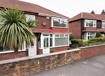 Thumbnail 2 bed terraced house for sale in Broomhall Road, Manchester