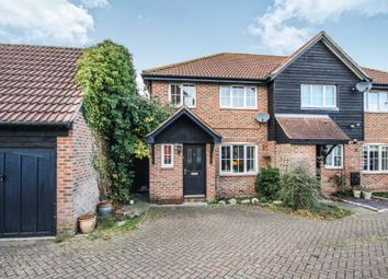 Thumbnail 3 bed end terrace house for sale in Invicta Court, Billericay