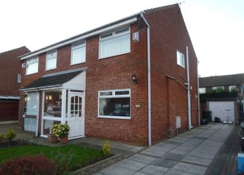 Thumbnail 3 bed semi-detached house to rent in Baytree Close, Crossens, Southport