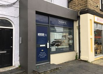 Thumbnail Retail premises to let in Walton Street, Oxford