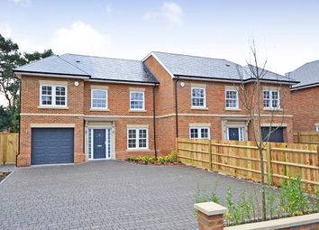 Thumbnail 5 bed semi-detached house for sale in St Georges Avenue, Weybridge