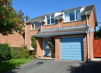 Thumbnail 4 bed detached house for sale in Abbey Meads, Glastonbury