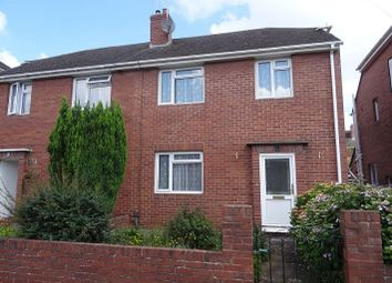 Thumbnail 3 bedroom semi-detached house to rent in Kingsway, Heavitree, Exeter