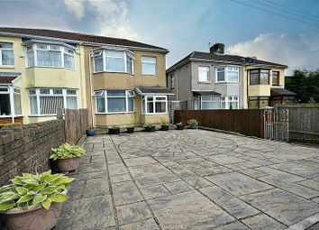 Thumbnail 3 bed semi-detached house for sale in The Highway, Croesyceiliog, Cwmbran