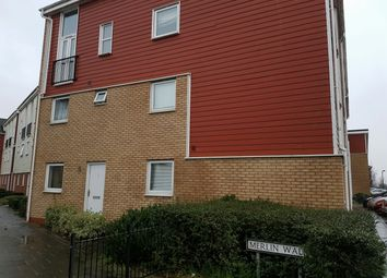 Thumbnail 1 bed flat to rent in Merlin Walk, Castle Vale, Birmingham