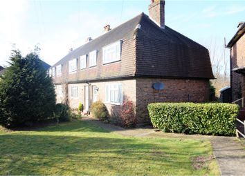 Thumbnail 3 bed end terrace house for sale in Bradbourne Vale Road, Sevenoaks