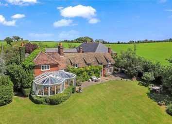 Thumbnail Detached house for sale in Longwood, Owslebury, Winchester, Hampshire