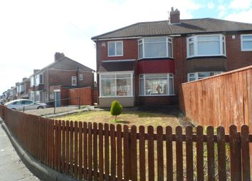 Thumbnail 3 bed semi-detached house for sale in Eaglescliffe Drive, High Heaton, Newcastle Upon Tyne