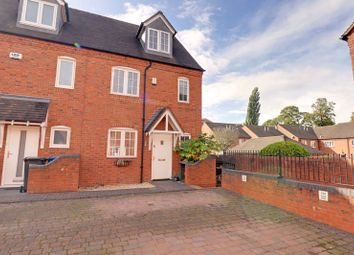 Thumbnail 4 bed end terrace house for sale in Swan Mews, Swan Road, Lichfield