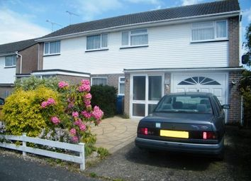 Thumbnail 3 bed semi-detached house for sale in Hamworthy, Poole, Dorset