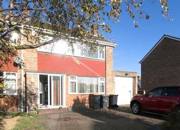 Thumbnail 3 bed semi-detached house to rent in Kimble Drive, Bedford