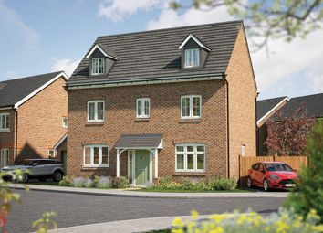 """Thumbnail 5 bedroom detached house for sale in """"The Yew """" at Haygate Road, Wellington, Telford"""