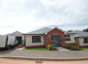 Thumbnail 3 bed detached bungalow for sale in Plot 3 Moonhill Copse, West Clyst, Exeter, Devon