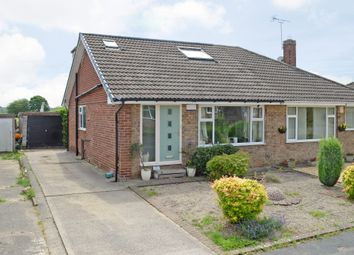 Thumbnail 3 bed semi-detached bungalow for sale in Low Moor Avenue, York