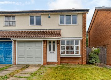 Thumbnail 3 bed semi-detached house for sale in Foxhope Close, Kings Norton, Birmingham